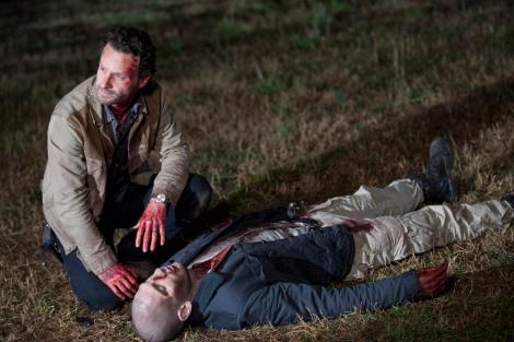 Rick Kills Shane